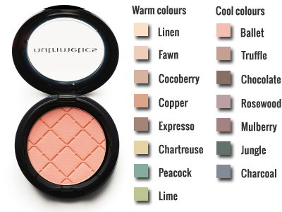 Nc Colour Impact Eyeshadows (1g)