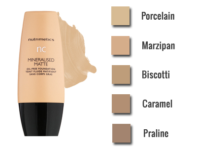 nc Mineralised Matte Foundation
